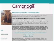 Tablet Preview of cambridgebavel.nl